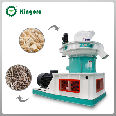 Crop Waste Double Stack Mold Pellet Machine