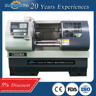 Cheap Small CNC Lathe Price for Sale metal lathe factory in China CK6432, CNC Lathe Machine