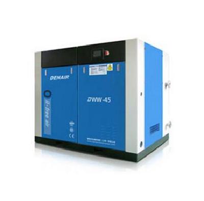 Dry non oil screw air compressor