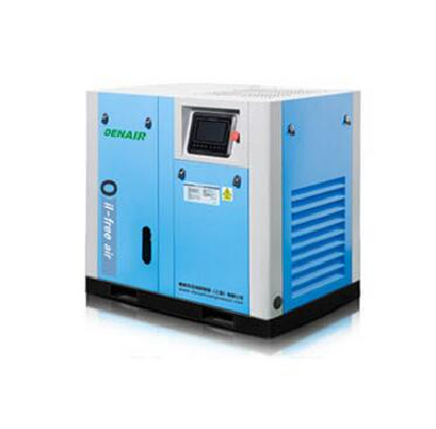 Water lubricated oil free screw air compressor