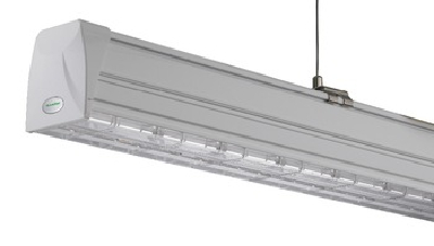 Trunking system LED linear light, connect 1 by1 no dark, Rail light