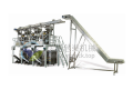 Full automatic packaging production line