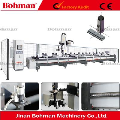 New 3 Axle Aluminum Processing Machine