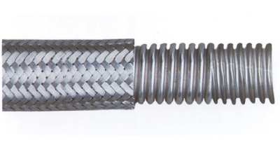 L-shaped - spiral corrugated pipe network body