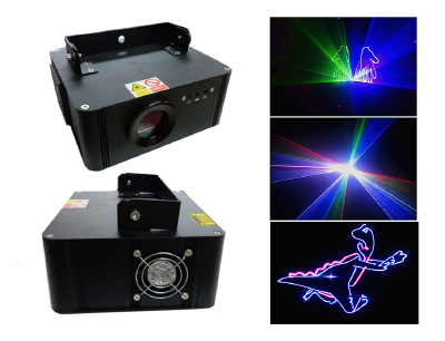 100mW Green Animation SD Card Laser Light DMX Stage Club Party Show
