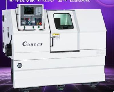 High speed and high precision linear rail CNC lathe
