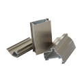 6063T5 aluminum door frame with powder coating grey color