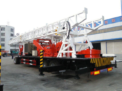 BINZUAN RIGS BZT-1500 Trailer Mounted Drilling Rig