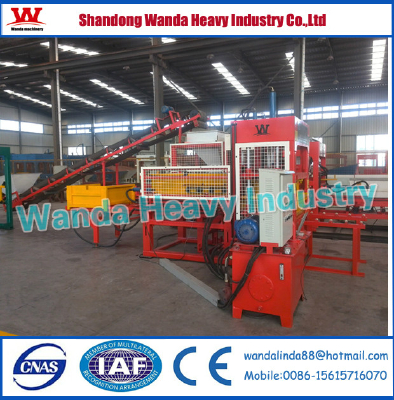 Promotion!WDQT5-18S semi automatic brick making machine for sale