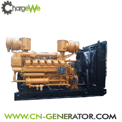 CE Approved Water-Cooled Open Type 700Kw Diesel Generator