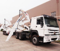 20GP/40ft container side loader , 3 axle side lift container sidelifter,container self loading container truck trailer,8*4 side loader