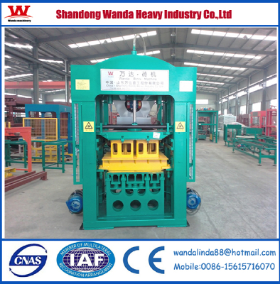 Good quality and best price!WDQT8-18 full automatic baking free brickmaking machine