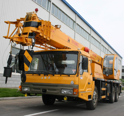 KaiFan Brand 16T Crane Four-section Boom