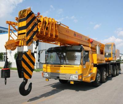 China new brand KaiFan Brand 50T Truck Crane for sale
