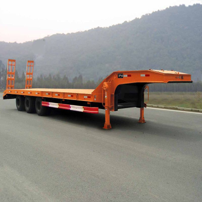 LUCHI Low Bed Truck Trailer