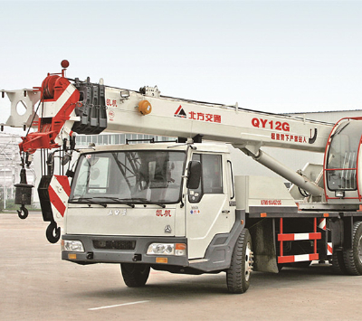 China new brand KaiFan Brand 12T QY12G Mobile Truck Crane for sale