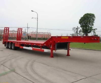 LUCHI Tri-axle Widen Low Bed Semi Trailer