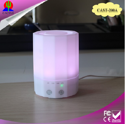 E-CO Friendly PP Plastic Aromatherapy Ultrasonic Aroma Diffuser