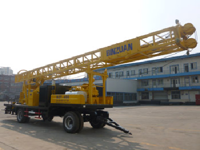 400m Trailer Type Drilling Rig